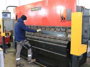 steel bending hull