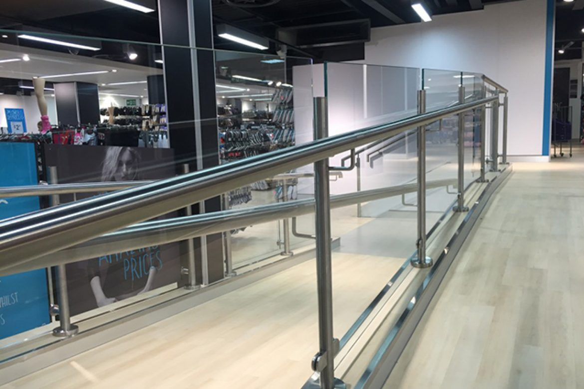 Stainless Steel Ramp and Glass – Ipswich
