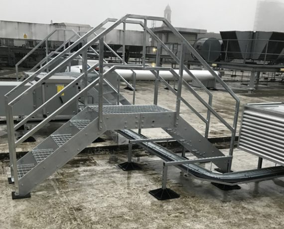 Roof Access Steps –  Arndale – Manchester