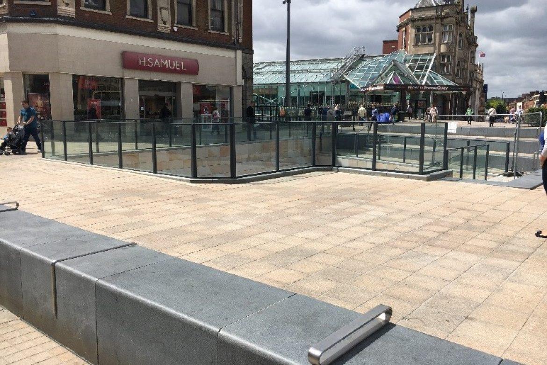 Bespoke Balustrade – Beverley Gate – Hull