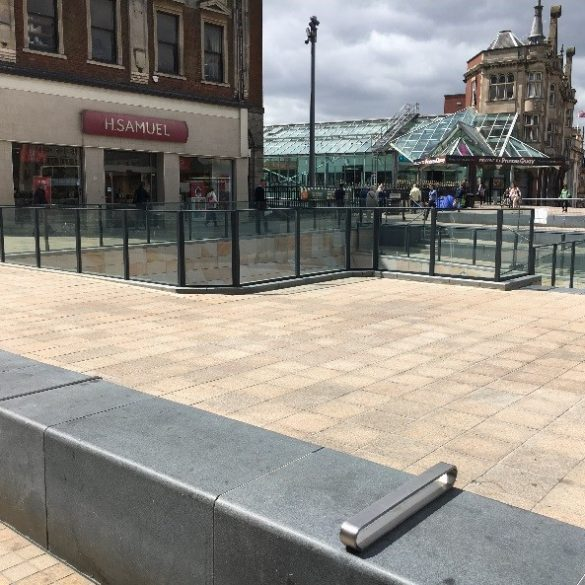 Bespoke Balustrade – Beverley Gate – Hull